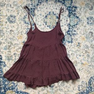 Brandy melville open back dress